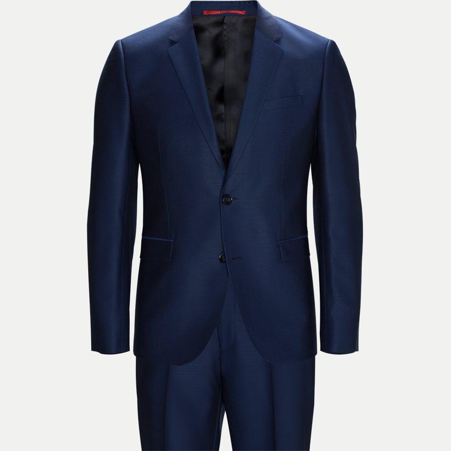 5597 ASTIAN/HETS - Astian/Hets Habit - Habitter - Ekstra slim fit - DARK BLUE - 1